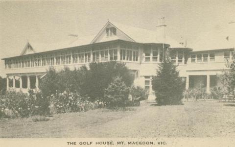 The Golf House, Mount Macedon, 1949