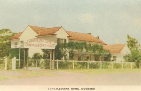 Convalescent Home, Woodend, 1955