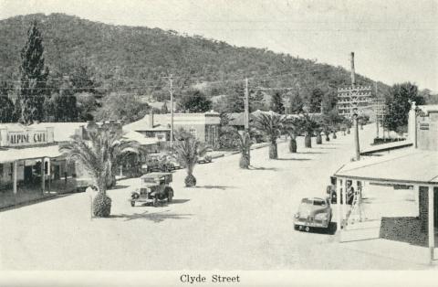 Clyde Street, Myrtleford
