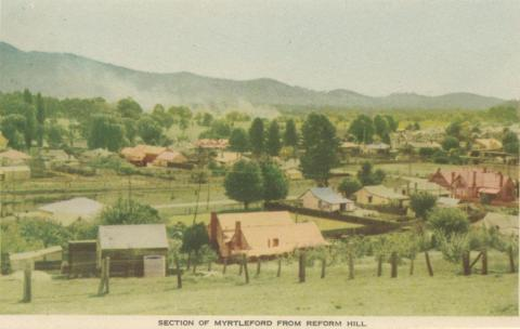 Section of Myrtleford from Reform Hill, 1953