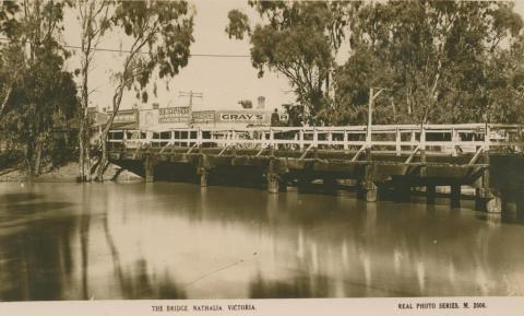 The Bridge, Nathalia, 1928