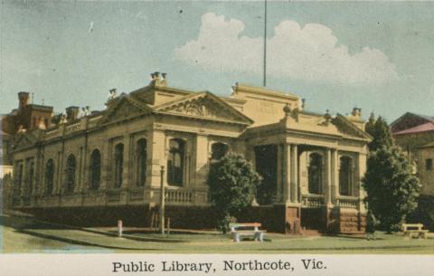 Public Library, Northcote