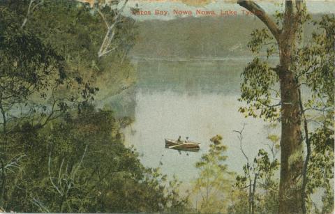 Lotus Bay, Nowa Nowa, Lake Tyers, 1908