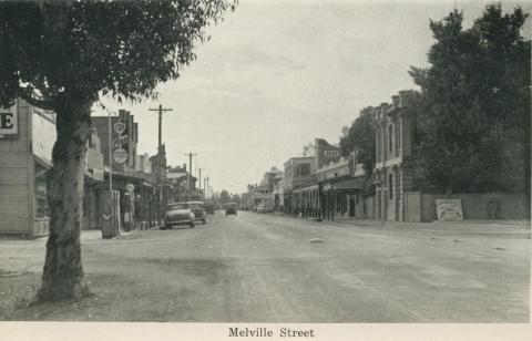 Melville Street, Numurkah, 1950