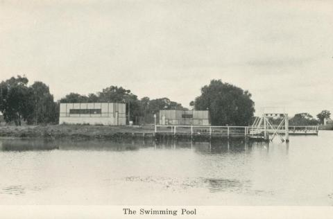 The Swimming Pool, Numurkah, 1950