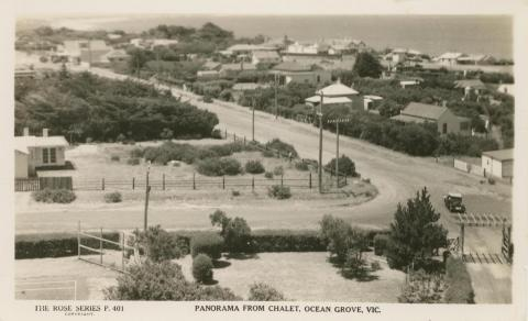 Panorama from Chalet, Ocean Grove