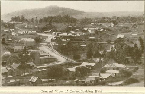 General view of Omeo, looking East