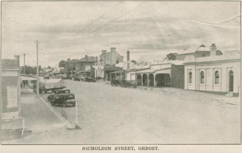 Nicholson Street, Orbost, 1947