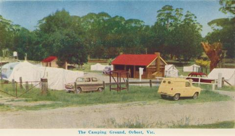 The Camping Ground, Orbost, 1964