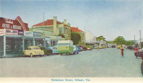 Nicholson Street, Orbost, 1964