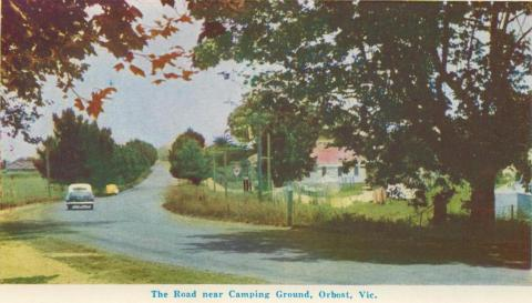 The Road near Camping Ground, Orbost, 1964
