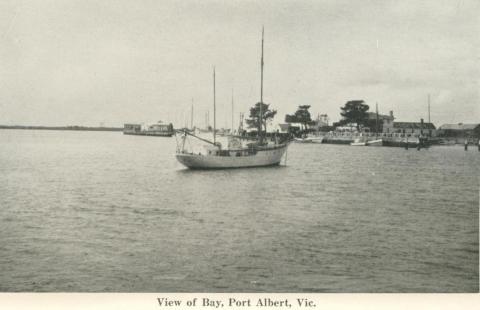 View of Bay, Port Albert