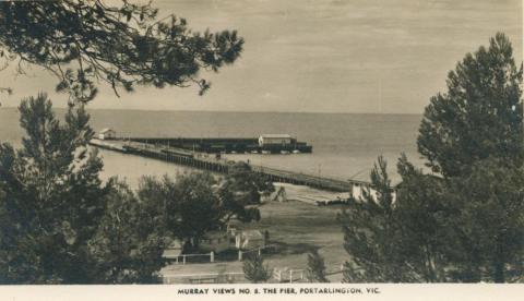 The Pier, Portarlington, 1957