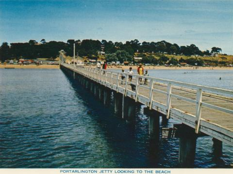 Portarlington Jetty looking to the Beach