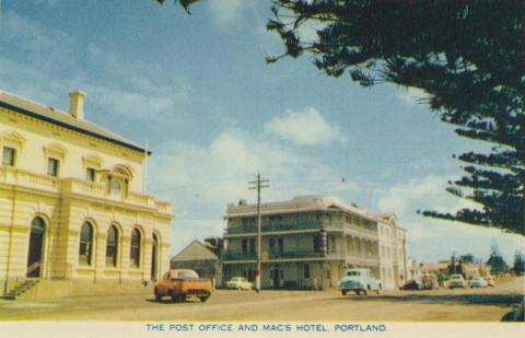 The Post Office and Mac's Hotel, Portland