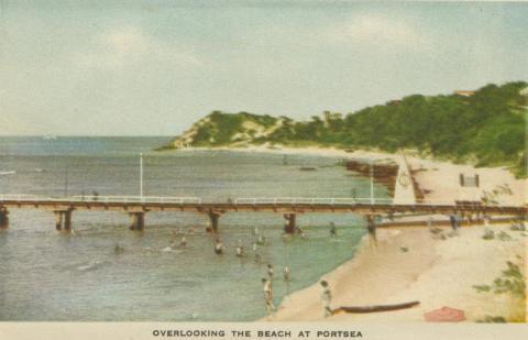Overlooking the Beach at Portsea