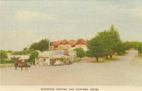 Shopping Centre and Portsea Hotel