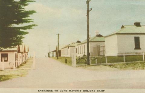 Entrance to Lord Mayor's Holiday Camp, Portsea
