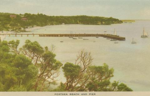 Portsea Beach and Pier