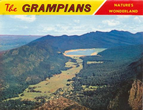 Halls Gap, Fyans Valley from Mt Difficult Lookout, Grampians