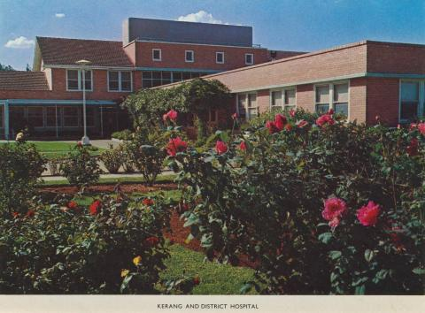 Kerang and District Hospital, 1975