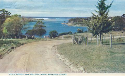View of Entrance from Mallacoota House
