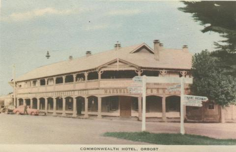 Commonwealth Hotel, Orbost, 1948