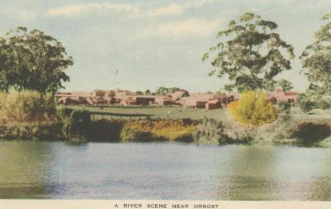 A River Scene near Orbost, 1948