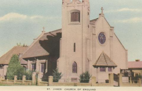 St James Church of England, Orbost, 1948