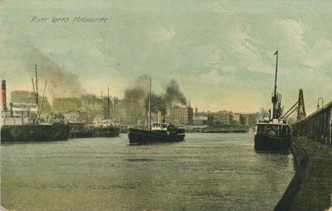 River Yarra, Melbourne, 1908