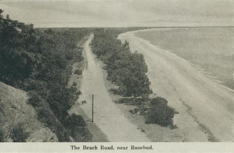 The Beach Road, near Rosebud, 1942