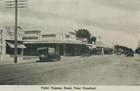 Point Nepean Road, near Rosebud, 1942