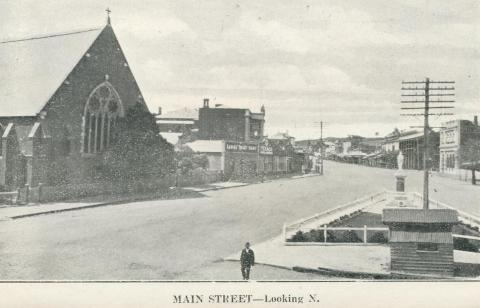 Main Street - Looking North, Stawell, c1925