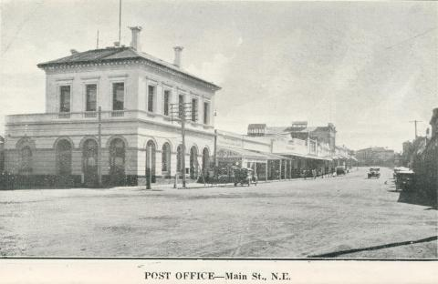 Post Office - Main Street N.E., Stawell, c1925