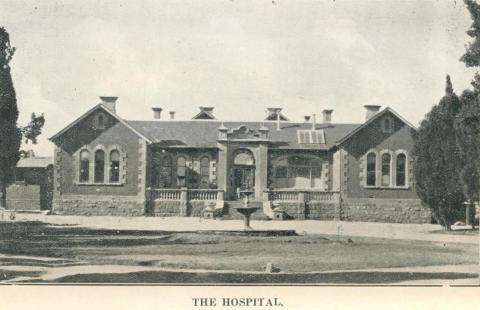 The Hospital, Stawell, c1925