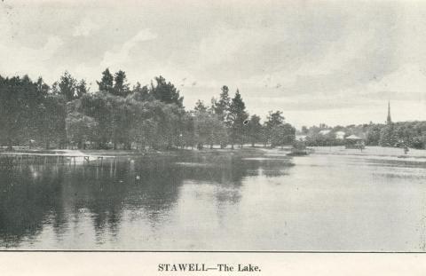 Stawell - The Lake, c1925