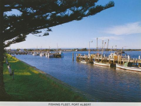Fishing Fleet, Port Albert