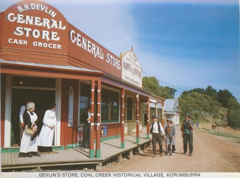 Delvin's Store, Coal Creek Historical Village, Korumburra