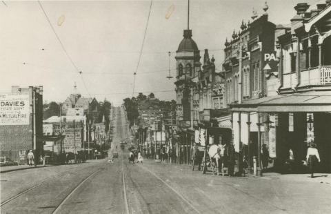 Burke Road, Camberwell, c1923