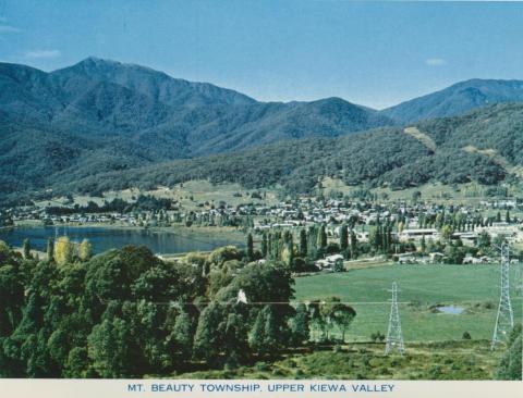 Mt Beauty Township, Upper Kiewa Valley