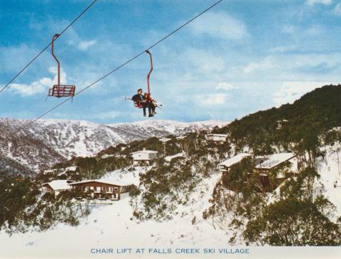 Chair Lift at Falls Creek Ski Village