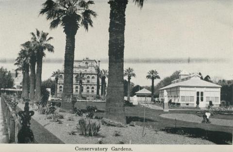 Conservatory Gardens, Bendigo