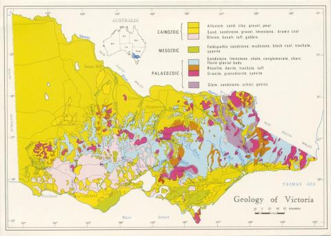 Map Geology of Victoria