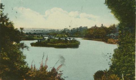 Botanic Gardens, Melbourne, 1910