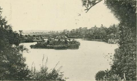 Botanic Gardens, Melbourne, 1911