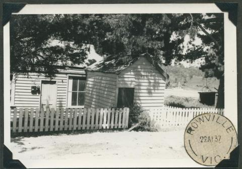 Old Post Office, closed in 1965, Rowville, 1968