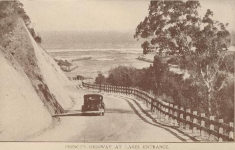 Princes Highway, Lakes Entrance