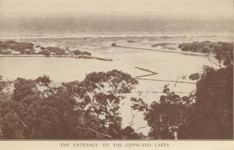 Entrance to the Gippsland Lakes