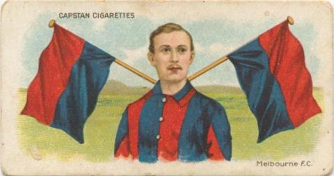 Melbourne Football Club, Capstan Cigarettes Card