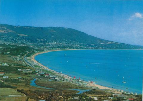 Safety Beach and Arthur's Seat from Mt Martha